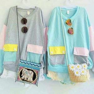 A0531 rainbow sweter