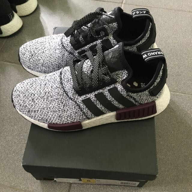 3d30d4580295f Adidas NMD R1 X Champs Sports Oreo, Sports, Sports Apparel on Carousell