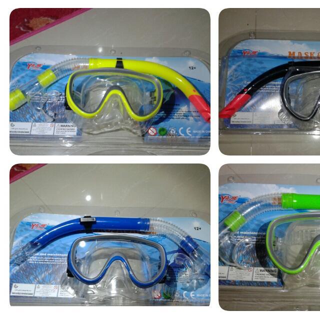 Alat Snorkelling/Scuba Diving Pulau (Mask + Snorkel)