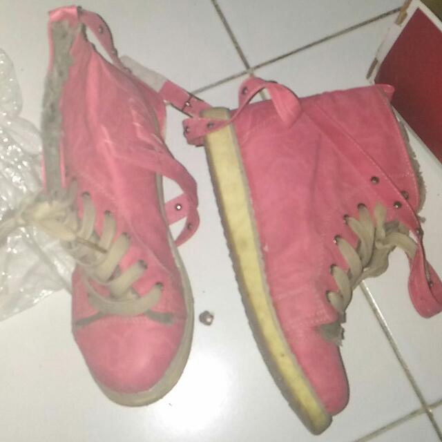 Angkle Length Boots - Color Watermelon GOT IT FOR FREE WHEN YOU PURCHASE ALONG WITH OTHER ITEM