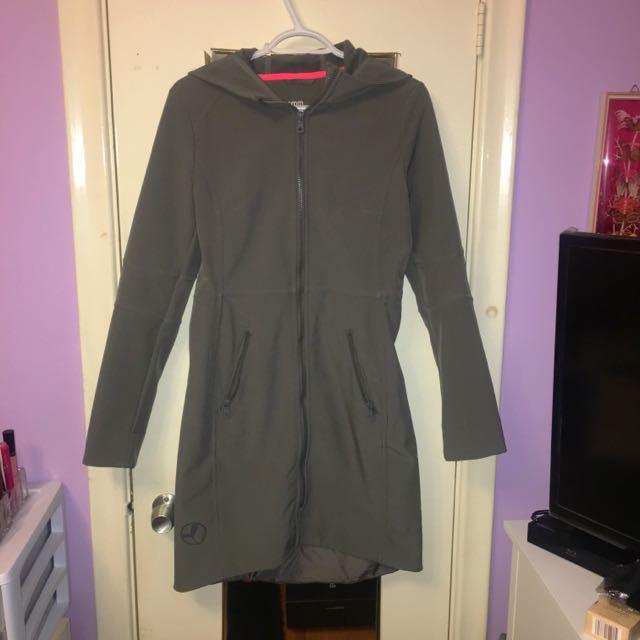 Aritzia - Community Waterproof Grey Jacket