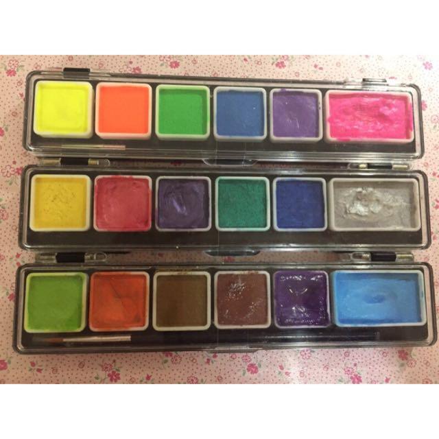亞洲色彩asia colors彩繪顏料