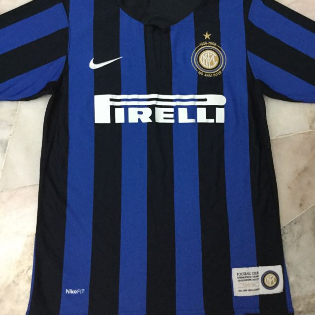 new arrivals 9f965 eab12 Authentic Inter Milan FC (100th Years Anniversary Jersey)