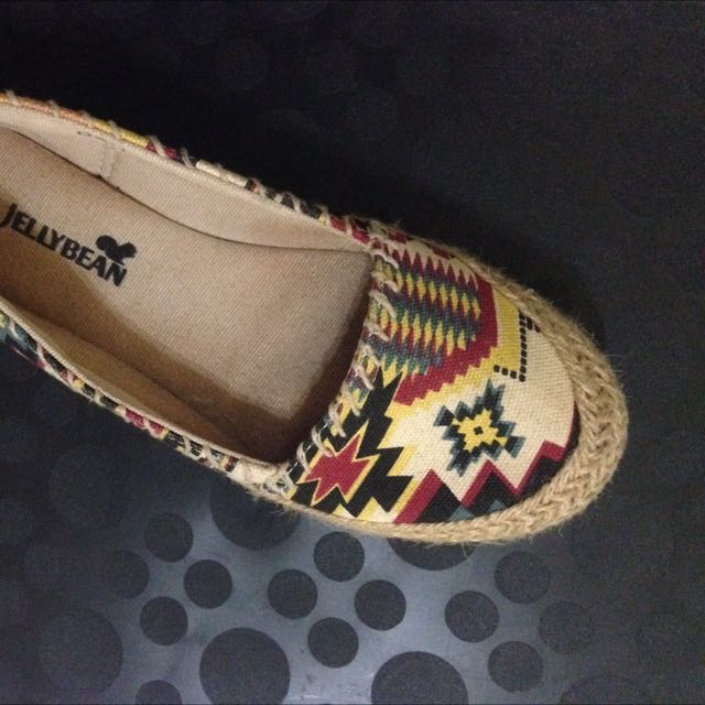 [RESERVED]Aztec Print Espadrille