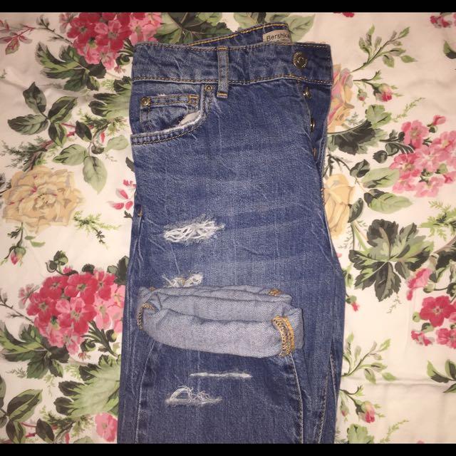 Bershka Vintage Inspire Jeans
