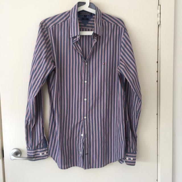 BNWOT Tommy Hilfiger Shirt M Slim Fit