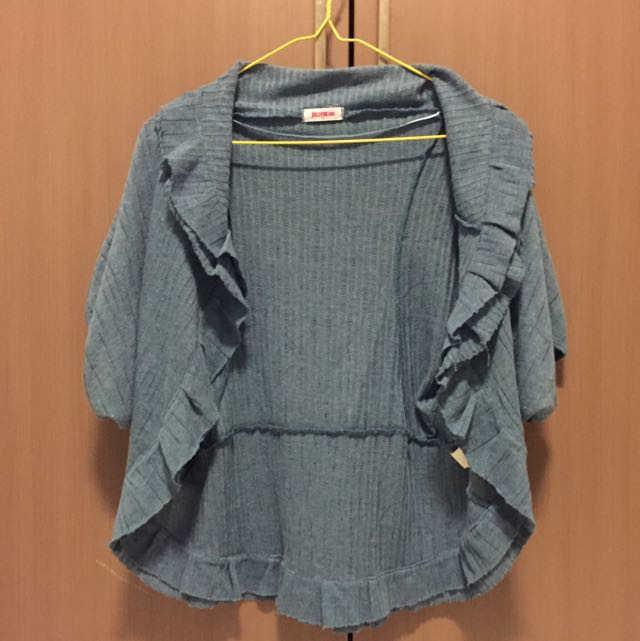 Cardigan/Chaleco (Short sleeved)