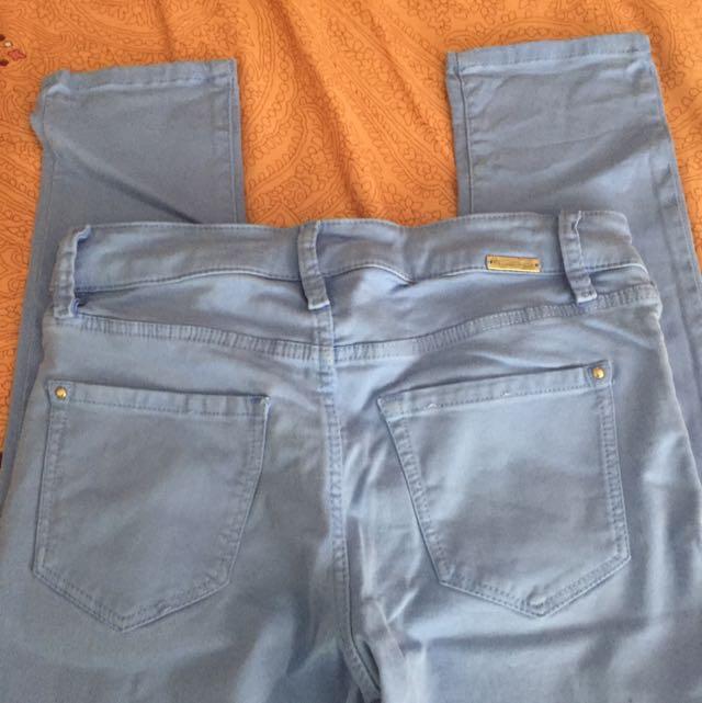 Celana panjang skinny fit massimo dutti