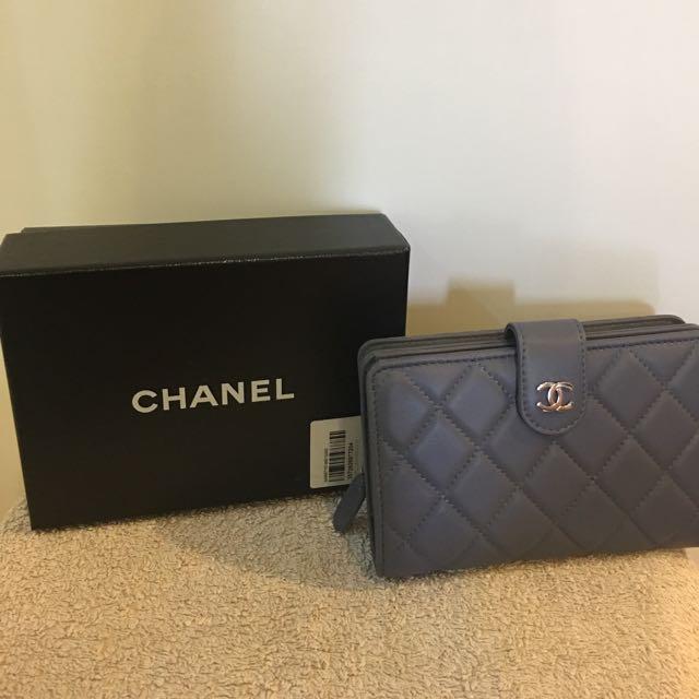 ae5ec4b0d02c Chanel Lavender Purple Wallet, Women's Fashion, Bags & Wallets on ...