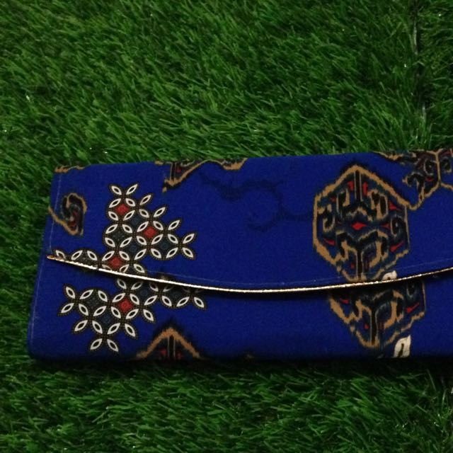 Clutch Batik Biru