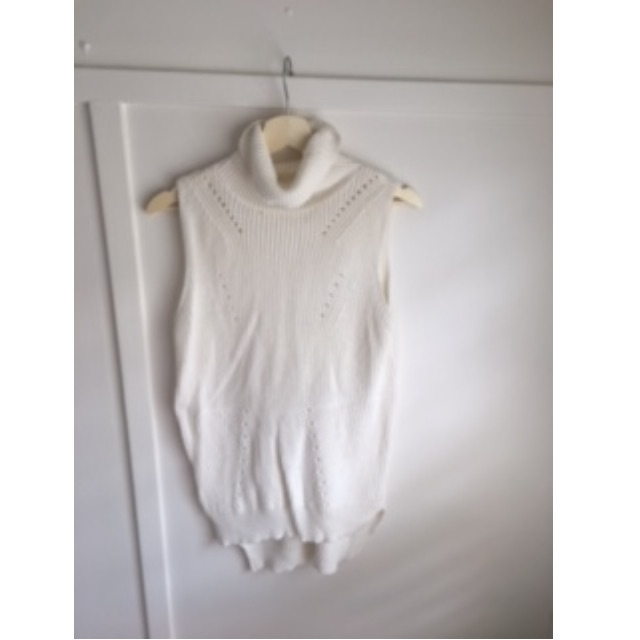 Cream/Ivory Turtleneck sweater - size 10-12