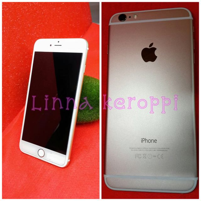 RePrice : Dijual iPhone 6 Plus 128 gB, Warna Gold