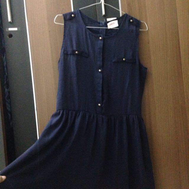 Dress Gaudy Navy