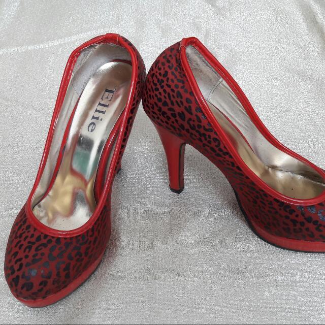 🌻REPRICED🌻 ELLIE - Red Animal Pattern