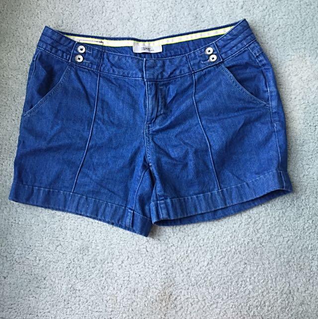Esprit Boy Fit Denim Shorts