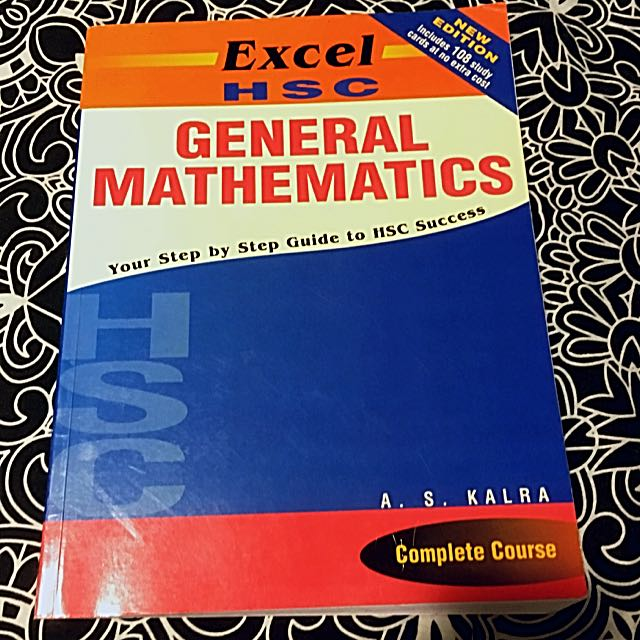 Excel HSC General Mathematics