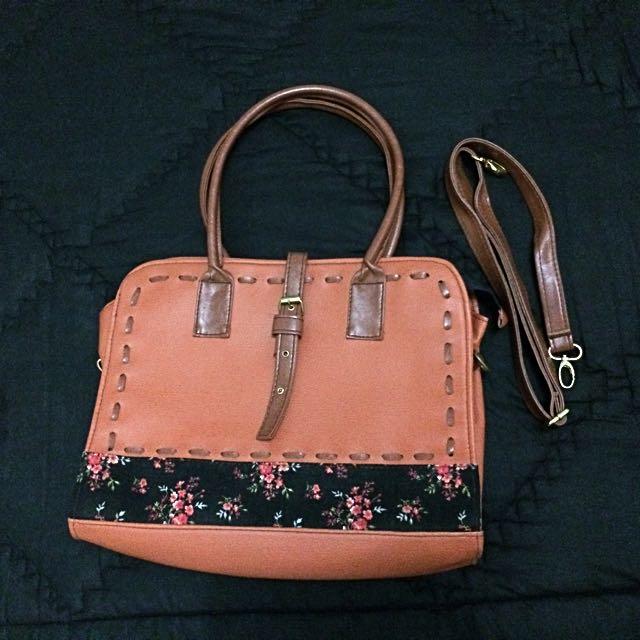Floral Woman Bag