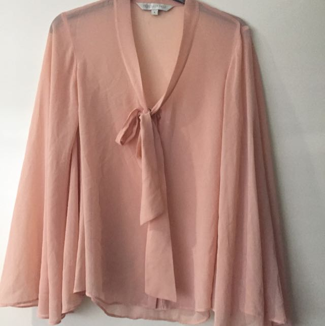Forever New Bell Sleeve Top - Size 8