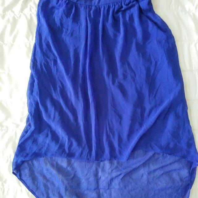 Forvever21 Blue Mermaid Skirt