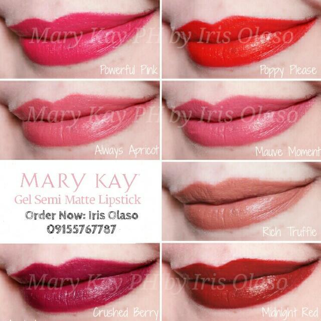 Gel Semi-Matte Lipstick by Mary Kay
