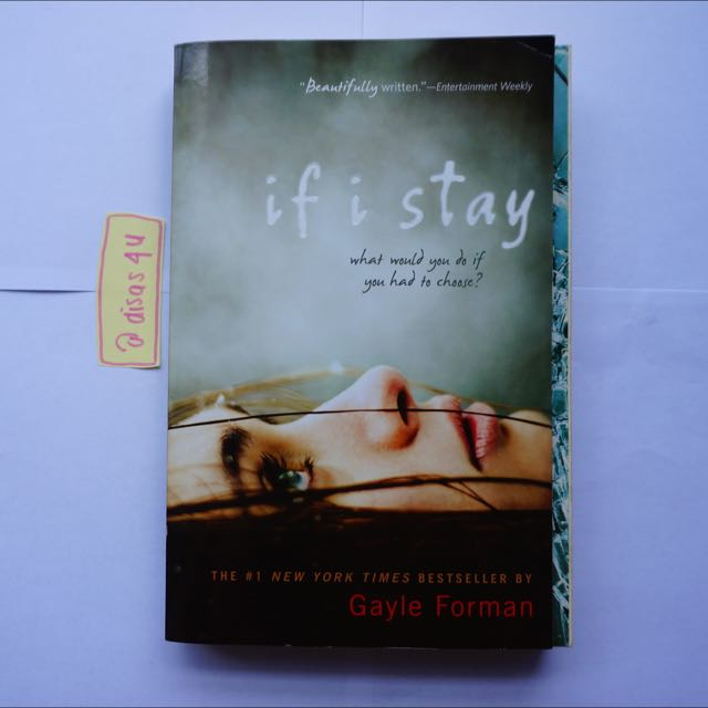 Diskon: If I Stay - Gayle Forman // English