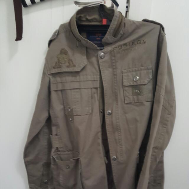 Jack & Jones Beige Jacket