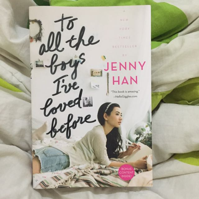 Jenny Han - To All The Boys I've Loved Before (ENGLISH! Free Ongkir)