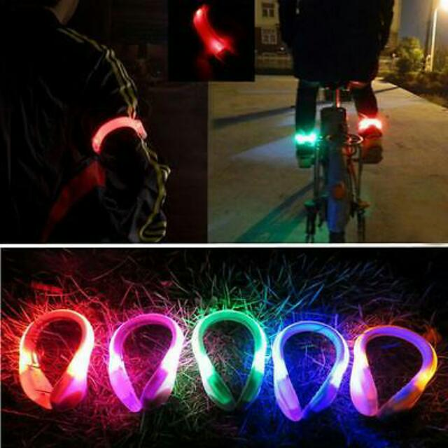 $14/pair LED Shoe Clip Running Cycling Safety Light