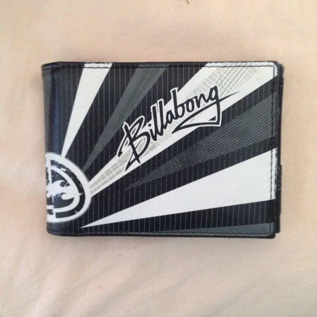 Men's Billabong Leather Wallet