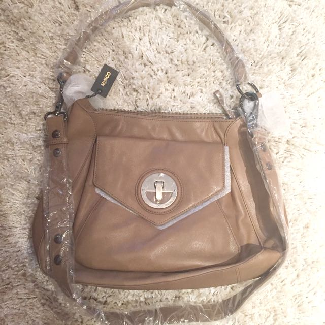 Mimco Molten hobo Bag In Mink