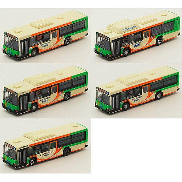 "[N 1/150] Japanese Bus Set ""Toei Bus Isuzu Elga"" [Tomytec] NEW"