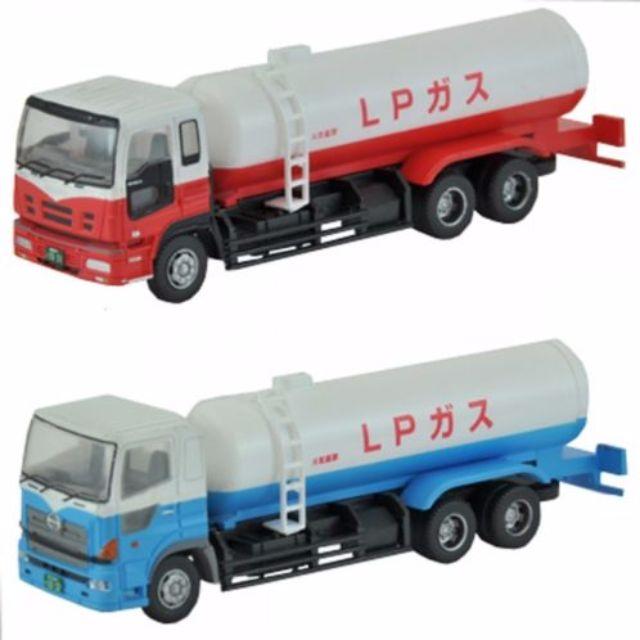 [N 1/150] Japanese Truck Set D2 Gas Transporter [Tomytec] NEW