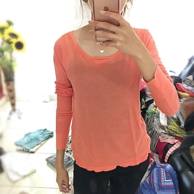 Orange Top Preloved