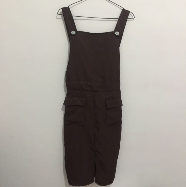 overall brown
