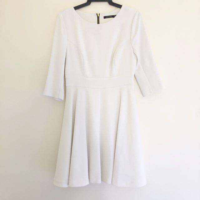 Portmans A-line White Dress