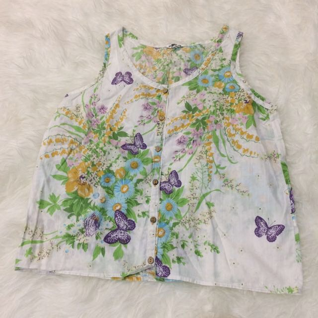 Preloved Bangkok Blouse