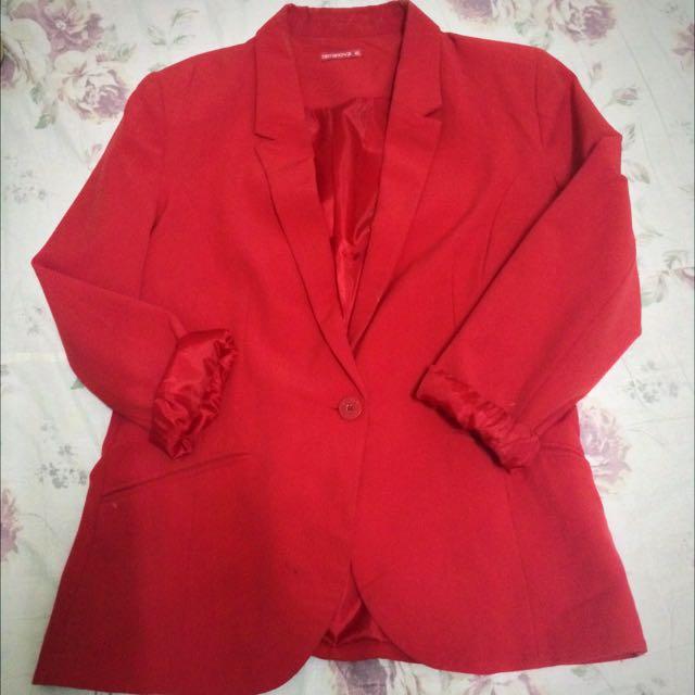 RED BLAZER [blazer] terranova