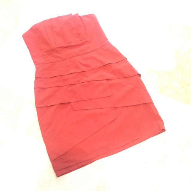 Red Forever 21 Dress ( Kemben)