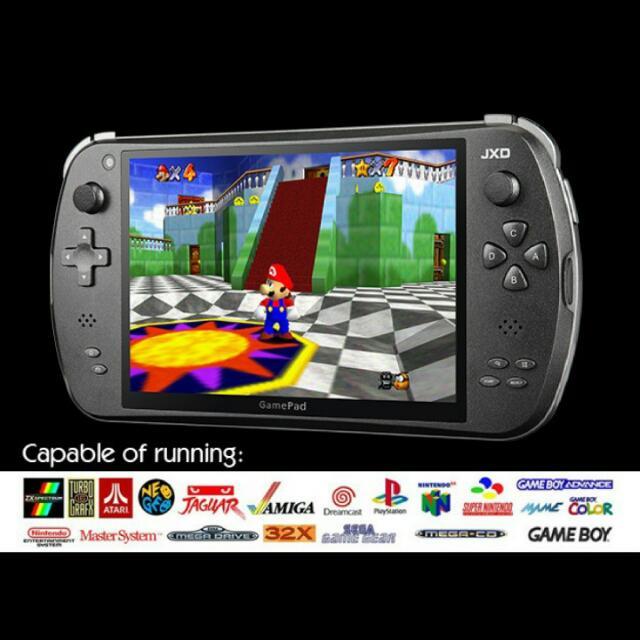 Retro Hand Held Console( PS1, Sega Megadrive, Nintendo Super