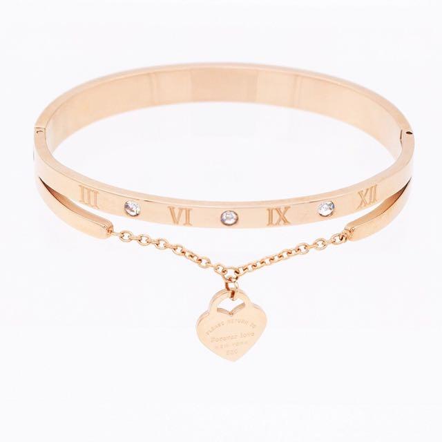Tiffany Roman Numeral Bracelet