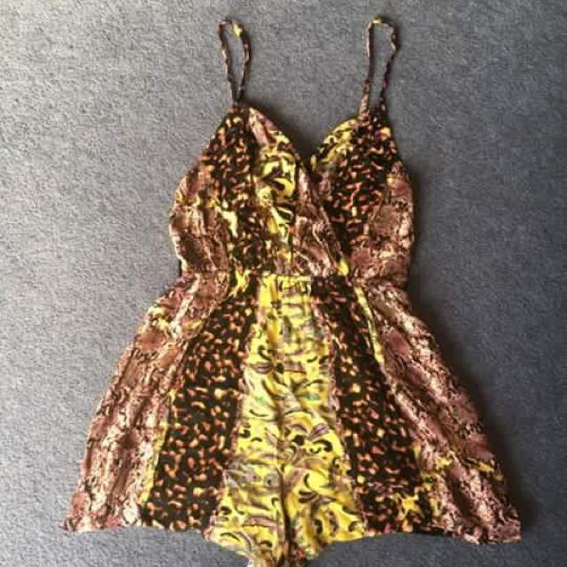 Size 8 Wildpair Playsuit