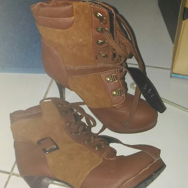 Suedette Boots - Buy 1 Get 1