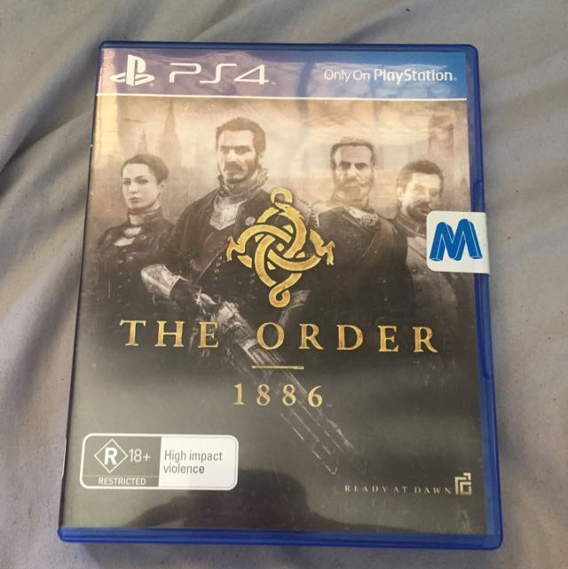 The Order 1886 Brand New! (PS4)