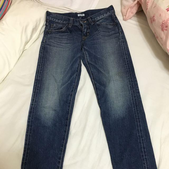 日本品牌todayful日本製刷色美牛仔褲23