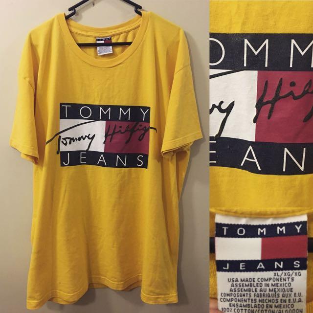 TOMMY BOX LOGO XL