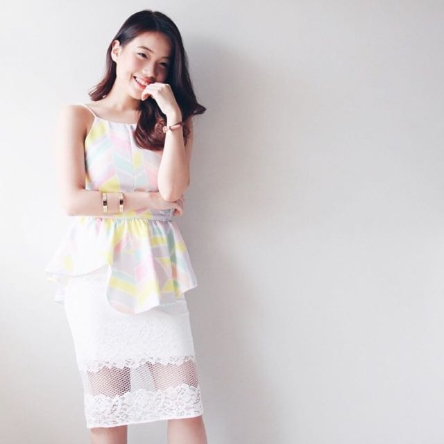 Top & Lacey Skirt
