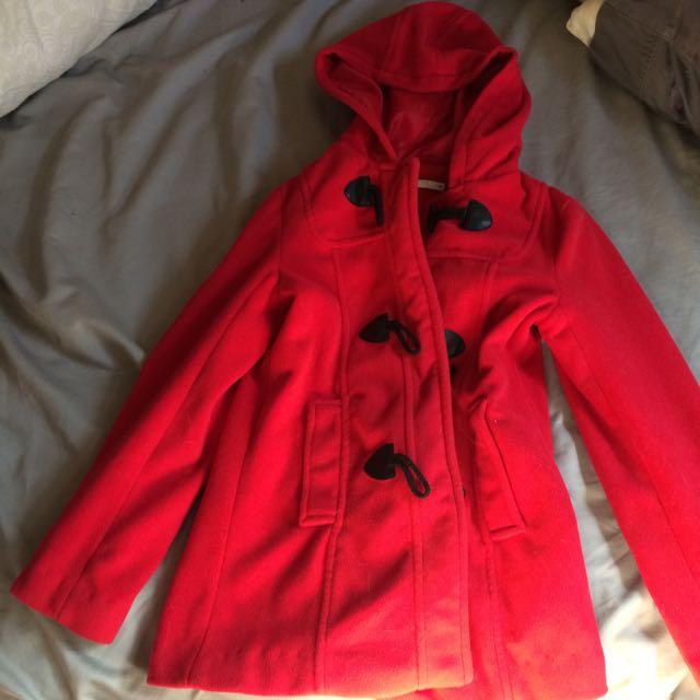 Warm Red Jacket
