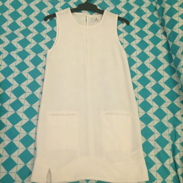 White Brand new Stussy Dress
