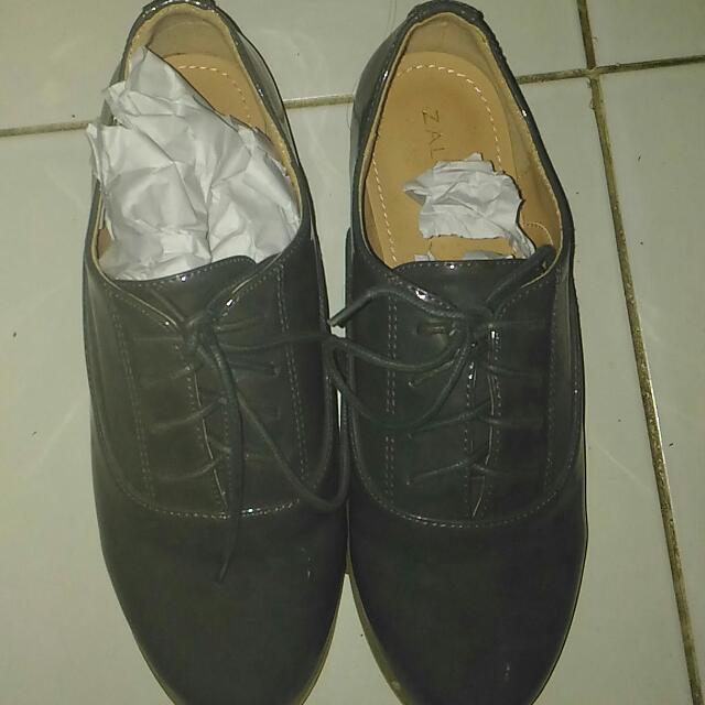 Zalora Shoes - Dark Grey
