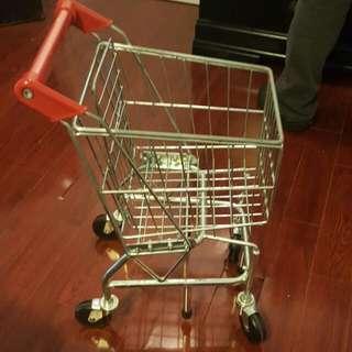 Toddler Metal Shopping Cart